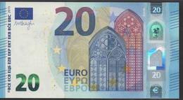 "EURO 20  ITALIA SF S016  ""32""  DRAGHI  UNC - EURO"