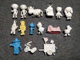 RARE 60'S MAGIC ROUNDABOUT ANIMATION 15 FIGURINES PREMIUM DUNKIN RAJÁ PORTUGUESE ICECREAM - Figurines