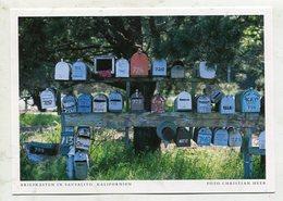 USA - AK 328327 Kalifornien - Briefkästen In Sausalito - Altri