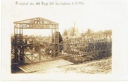 VLADSLO - Friedhof Inf. Regt. 361 - 6.12.1915 - Prachtige FOTOKAART In Zeer Goede Staat - 1914-18