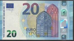 "EURO 20  ITALIA SC S018  ""35""  DRAGHI  UNC - EURO"