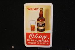 Playing Cards / Carte A Jouer / 1 Dos De Cartes Avec Publicité / Okay, Whisky, N.V. De Torens S.A - Aarscot. - Cartes à Jouer