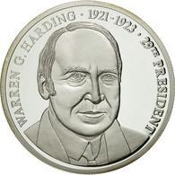 United States Of America, Médaille, Les Présidents Des Etats-Unis, W. Harding - Etats-Unis