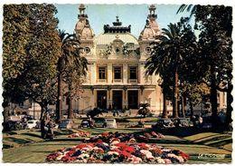 Monaco Modern Postcard Monte-Carlo, Casino And The Gardens - Monte-Carlo