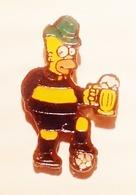 Football, Soccer, Calcio, Bart Simpsons Boca Juniors Team Fan, Pin - Football