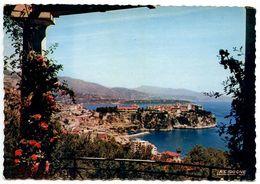 Monaco Modern Postcard Rock Of Monaco - Monaco