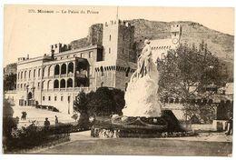 Monaco Vintage Postcard The Palace Of The Prince - Prince's Palace
