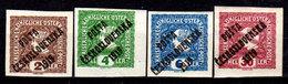 Cecoslovacchia-057 - Valori Del 1919 (+) Hinged - Senza Difetti Occulti. - Cecoslovacchia