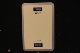 Playing Cards / Carte A Jouer / 1 Dos De Cartes Avec Publicité / John Haig & Coltd , Scotch Whisky - Edinburgh Scotland - Cartes à Jouer