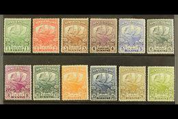 1919 Newfoundland Contingent Complete Set, SG 130/41, Fine Fresh Mint. (12 Stamps) For More Images, Please Visit Http:// - Newfoundland And Labrador
