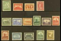 """1928-29 Publicity """"Basic"""" Set, SG 164/78, Mint (15 Stamps) For More Images, Please Visit Http://www.sandafayre.com/itemd - Newfoundland And Labrador"""