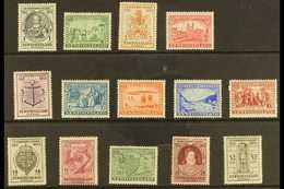 """1933 """"Gilbert"""" Definitive Set, SG 236/49, Fine Mint (14 Stamps) For More Images, Please Visit Http://www.sandafayre.com/ - Newfoundland And Labrador"""