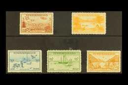 1933 Air Set, SG 230/34, Fine Mint (5 Stamps) For More Images, Please Visit Http://www.sandafayre.com/itemdetails.aspx?s - Newfoundland And Labrador