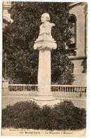 Monaco Vintage Postcard Monte-Carlo - Monument To Massenet - Monte-Carlo