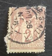 Type Sage Type Ll N° 85 - 1876-1898 Sage (Type II)