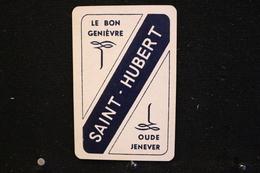 Playing Cards / Carte A Jouer / 1 Dos De Cartes Avec Publicité / Le Bon Genièvre, Saint-Hubert - Oude Jenever - Cartes à Jouer