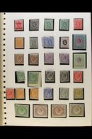 1919-1927 MINT COLLECTION Presented In Mounts On An Old Album Page. Includes 1921 MSCA Watermark Set To 3r (SG 65/73), 1 - Kenya (1963-...)