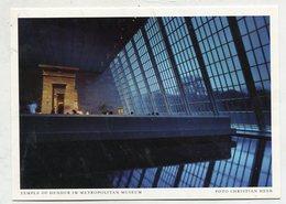 USA - AK 328340 New York City - Temple Of Dendur Im Metropolitan Museum - Musées