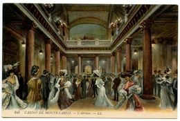 Monaco Vintage Postcard Monte-Carlo Casino - L'Atrium - Monte-Carlo