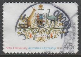 Australia 1999 The 50th Anniversary Of Australian Citizenship - Self-Adhesive 45 C Multicoloured SW 1788  O Used - 1990-99 Elizabeth II