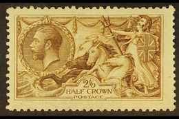 1915 2s6d Yellow- Brown De La Rue, SG 406, Mint Lightly Hinged. For More Images, Please Visit Http://www.sandafayre.com/ - 1902-1951 (Kings)