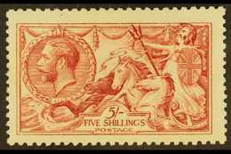 1915 5s Pale Carmine (worn Plate) De La Rue, SG 410, Never Hinged Mint. Fresh & Attractive. For More Images, Please Visi - 1902-1951 (Kings)