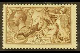1918-19 2s6d Pale Brown, SG 415a, Never Hinged Mint For More Images, Please Visit Http://www.sandafayre.com/itemdetails. - 1902-1951 (Kings)