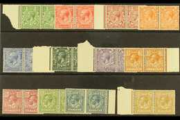 1924-26 Wmk Block Cypher Set Complete, SG 418-29, Never Hinged Mint PAIRS. Lovely Fresh Quality (24 Stamps) For More Ima - 1902-1951 (Kings)