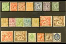 1924-29 NHM SELECTION Presented On A Stock Card. Includes A 1924-26 Block Cypher Definitive Set, 1924-25 Empire Exhibiti - 1902-1951 (Kings)