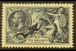"""1934 10s Indigo """"Seahorse"""", SG 452, Never Hinged Mint With One Missing Perf At Base For More Images, Please Visit Http:/ - 1902-1951 (Kings)"""
