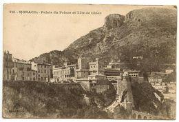 Monaco Vintage Postcard Palais Du Prince Et Tête De Chien - Prince's Palace