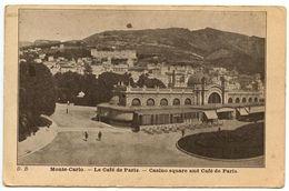 Monaco Vintage Postcard Monte-Carlo - Casino Square & Café De Paris - Monte-Carlo