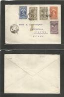 Ethiopia. 1935 (8 Feb) Addis Abeba - Switzerland, Luzern. Multifkd Envelope. Fine. - Ethiopia