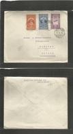 Ethiopia. 1935 (8 May) Addis Abeba - Switzerland, Luzern. Multifkd Envelope. Fine. - Ethiopia