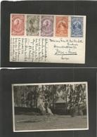 Ethiopia. 1935 (1 Dec) Addis Abeba - Switzerland, Bern. Multifkd Ppc. Nice Item. - Ethiopia