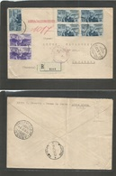 Italian Colonies. 1937 (5 March) Ethiopia. Addis Abeba - Turkey, Istanbul (13 March) Via Athens - Sofia, Bulgaria (11-12 - Italy
