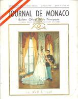 JOURNAL De MONACO - Cérémonies Officielles Du Mariage De S.A.S. Le Prince Souverain RAINIER III Avec Miss Grace KELLY - People