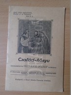 DC30.14  Hungary  Family Event Booklet - Polatsek --Ujpest - 1933 - Unclassified