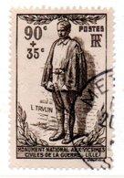 N 420 / 90 Centimes  35 Centimes Brun / Oblitéré / Côte 11 € - Gebraucht