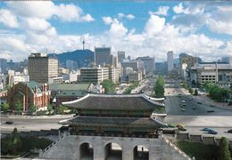 1 AK Südkorea South Korea * Ansicht Der Hauptstadt Seoul - Sejongno Street * - Korea (Süd)