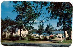Canada Modern Postcard Cape Cod Colony Motel & Cottage Court - Shelburne, Nova Scotia - Nova Scotia