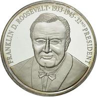 United States Of America, Médaille, Les Présidents Des Etats-Unis, F. - Etats-Unis