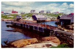 Canada Modern Postcard Peggy's Cover, Nova Scotia - Nova Scotia