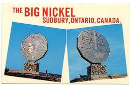 Canada Modern Postcard The Big Nickel - Sudbury, Ontario - Ontario