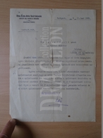 DC31.2 Hungary DUNA-DRÁVA-SZÁVA Railway Company - (Déli Vaspálya) 1929  - Letter - Facturas & Documentos Mercantiles