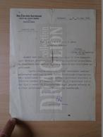 DC31.2 Hungary DUNA-DRÁVA-SZÁVA Railway Company - (Déli Vaspálya) 1929  - Letter - Invoices & Commercial Documents