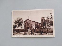 CARTOLINA ADI CAIE - LA CHIESA - Eritrea