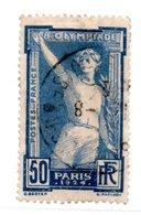 N 186 / 50 Centimes Outremer /  Oblitéré - Francia