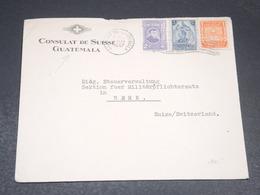 GUATEMALA - Enveloppe Du Consulat De Suisse Pour La Suisse En 1947 - L 19876 - Guatemala