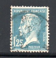 N 181 / 1 Franc 25  Bleu /  Oblitéré / Côte 10 € - Francia